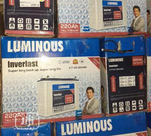 Luminous 220ah 12v Tubular Battery | Solar Energy for sale in Lagos State, Ojo