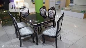 Quality Set of Royal Wooden Dinning Table With Six Chairs | Furniture for sale in Lagos State, Ojota