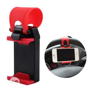 Car Steering Wheel Covers Convenient Smart Phone Stand Mount | Vehicle Parts & Accessories for sale in Lagos State, Victoria Island