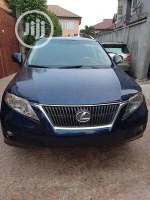 Lexus RX 2012 350 FWD Blue | Cars for sale in Lagos State, Ikeja