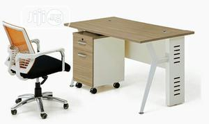 Home Office Table With Metal Legs. Size 4ft   Furniture for sale in Lagos State, Yaba