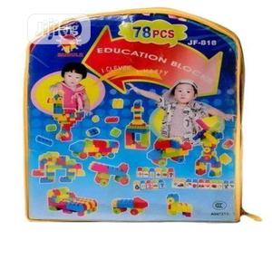 Kiddies Educational Building Blocks - 78 Pieces   Toys for sale in Lagos State, Amuwo-Odofin