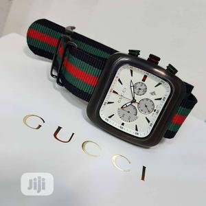 Gucci Chronograph Black Strap Watch | Watches for sale in Lagos State, Lagos Island (Eko)
