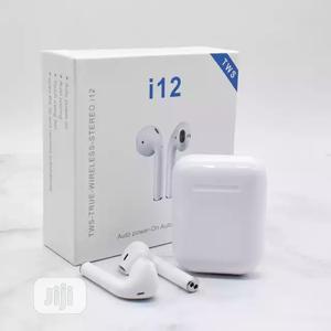 I12 Airpods Tws Wireless Bluetooth Earphone   Headphones for sale in Lagos State, Ikeja