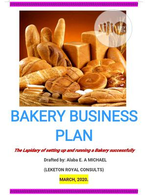 Get A Lapidary Bakery Business Plan | Tax & Financial Services for sale in Abuja (FCT) State, Asokoro