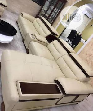 Quality L Shape Sofa Chair With Guaranteed Leather | Furniture for sale in Lagos State, Ajah