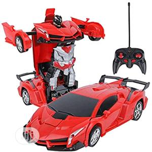 Remote Control Car Transforming Robot Car Toy | Toys for sale in Lagos State, Amuwo-Odofin