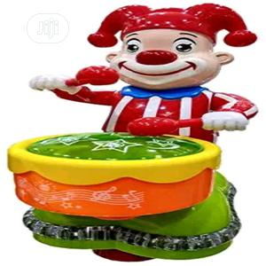 Happy Clown Toy With Music And LED Light For Kids(Multicolor)   Toys for sale in Lagos State, Amuwo-Odofin