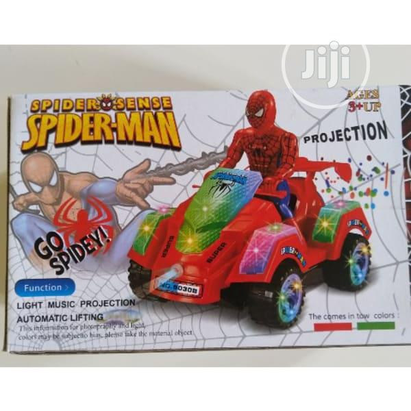 Spider-man Battery Powered Ride-on Car For Kids