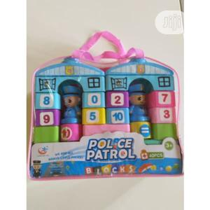 Police Patrol Building Blocks For Kids - 40 Pieces | Toys for sale in Lagos State, Amuwo-Odofin