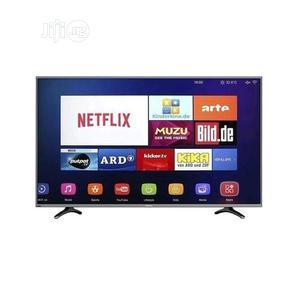 Hisense 50-inch Smart UHD 4K TV 50 Black, With DSTV Now APP   TV & DVD Equipment for sale in Abuja (FCT) State, Wuse