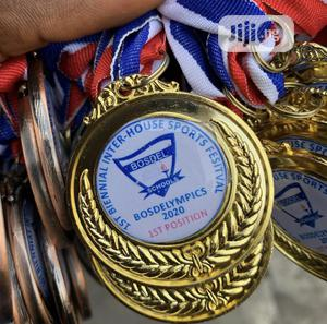 Gold Medal With Printing | Arts & Crafts for sale in Lagos State, Ikoyi