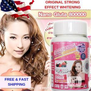 Nano Gluta 800000 Glutathione Vit C Skin Whitening, Aura White V-Shape | Vitamins & Supplements for sale in Lagos State, Alimosho