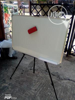 Magnakic White Board And Stand | Stationery for sale in Lagos State, Yaba