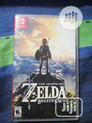 The Legend Of Zelda:Breath Of Wild-nintendo Switch | Video Games for sale in Lagos State, Ikeja