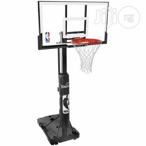 Basketball Stand.