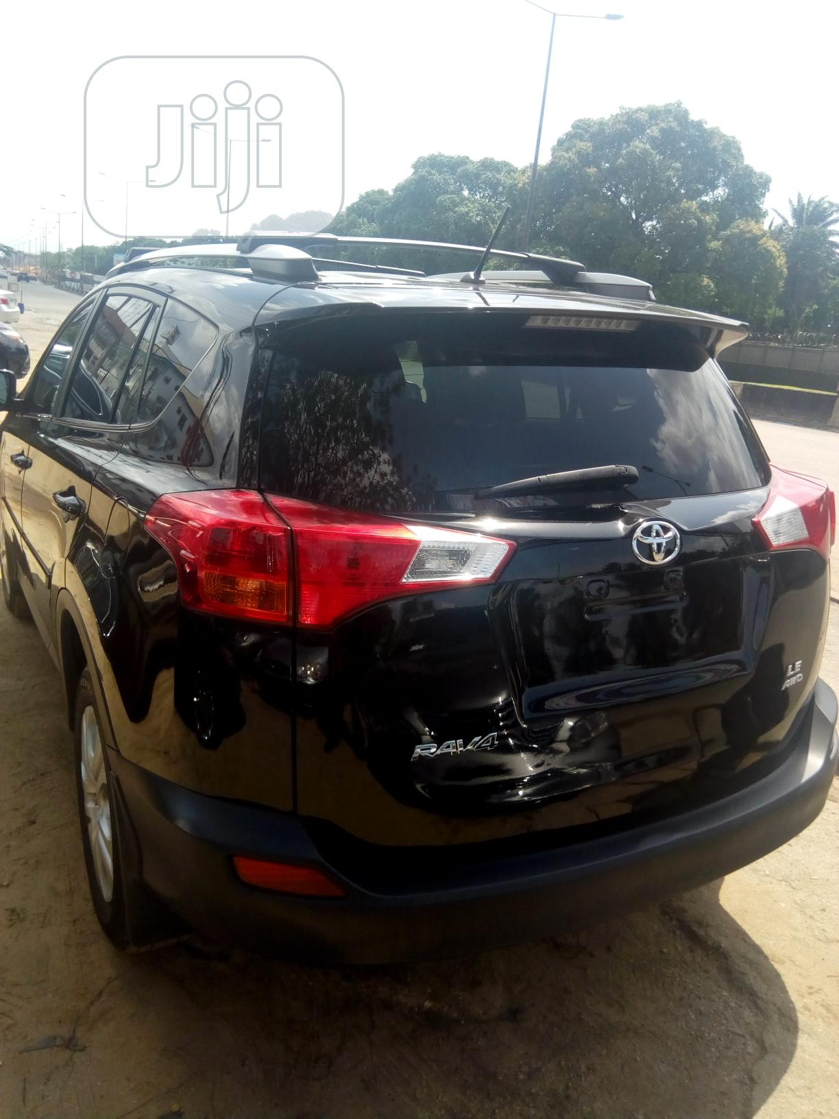 Toyota RAV4 2015 Black | Cars for sale in Port-Harcourt, Rivers State, Nigeria