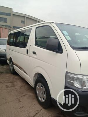 Super Clean Toyota Hiace 2008 White   Buses & Microbuses for sale in Lagos State, Ikeja