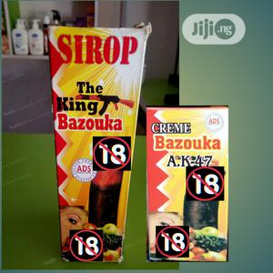 AK47 Original Super Bazooka Syrup Nd Cream 4 Men Enlargement   Sexual Wellness for sale in Lagos State, Surulere