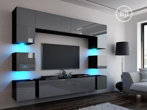 Luxury Wall TV Design | Furniture for sale in Oyo State, Ibadan