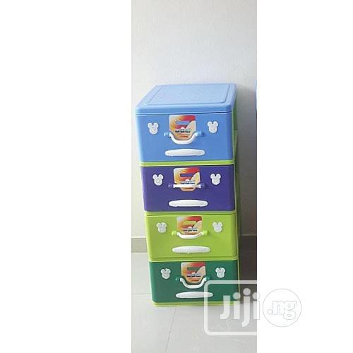 Avanti Senior Baby 4 Layer Plastic Storage Baby Wardrobe