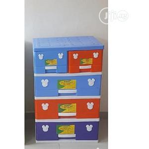 Supreme Mixed Colour Detachable Plastic Storage Cabinet   Children's Furniture for sale in Lagos State, Agege
