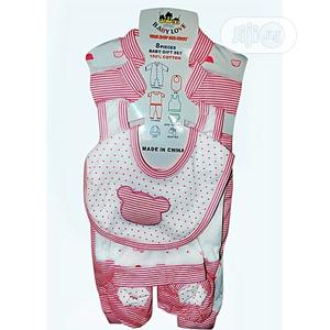 8pcs Cotton Clothes Set for Newborn Babies | Children's Clothing for sale in Lagos State, Agege