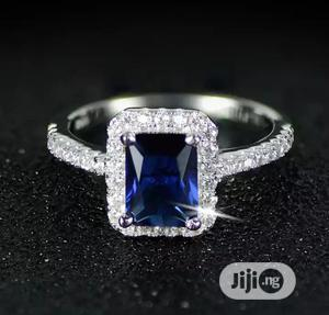 Blue Rock Silver Plated Engagement Ring | Wedding Wear & Accessories for sale in Delta State, Warri