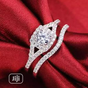 Lupic Silver Plated Bridal Ring Set. | Wedding Wear & Accessories for sale in Delta State, Warri