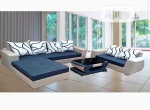 L Shape Soffas With Double Seaters Center Table   Furniture for sale in Lagos State, Yaba