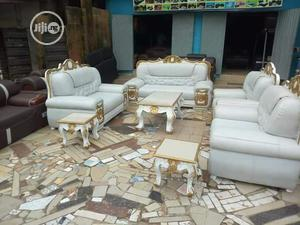 Classic Luxury Sofa ,Center Table Side Stools   Furniture for sale in Oyo State, Ibadan