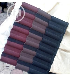 If U Want Good Stone Coated Step Tile Roofing Sheet, Call Docherich   Building Materials for sale in Lagos State, Ajah