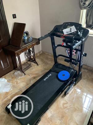 2.5hp Treadmill With Massager And Dumbell | Sports Equipment for sale in Lagos State, Badagry