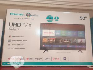 Hisense Uhd TV 4K   TV & DVD Equipment for sale in Abuja (FCT) State, Wuse