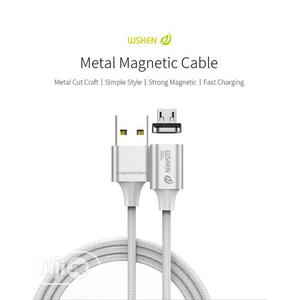 WSKEN X2 1M 3.28ft Magnetic Android Micro USB Cable LED | Accessories for Mobile Phones & Tablets for sale in Imo State, Owerri