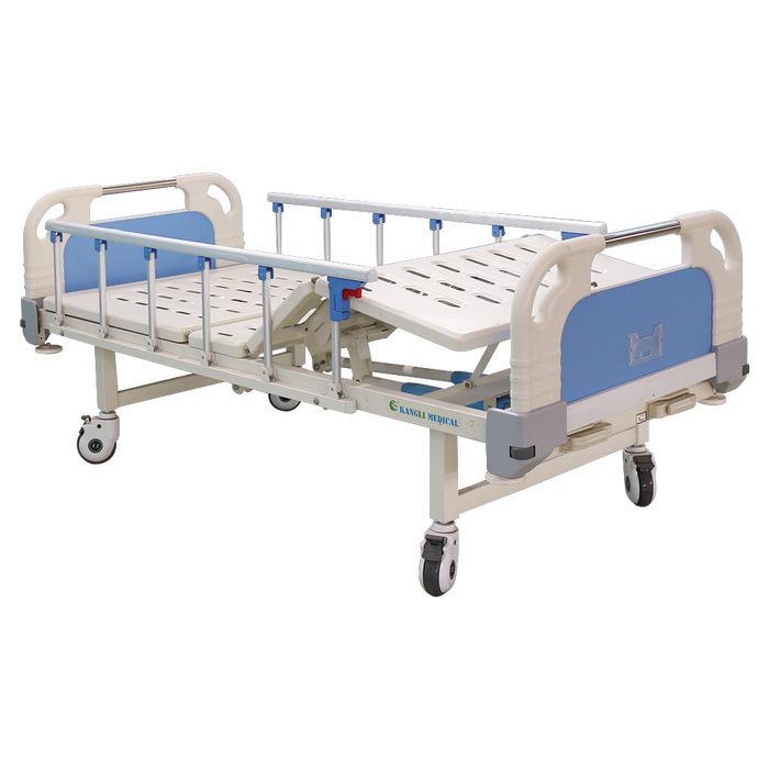 2 Crank ICU Hospital Bed