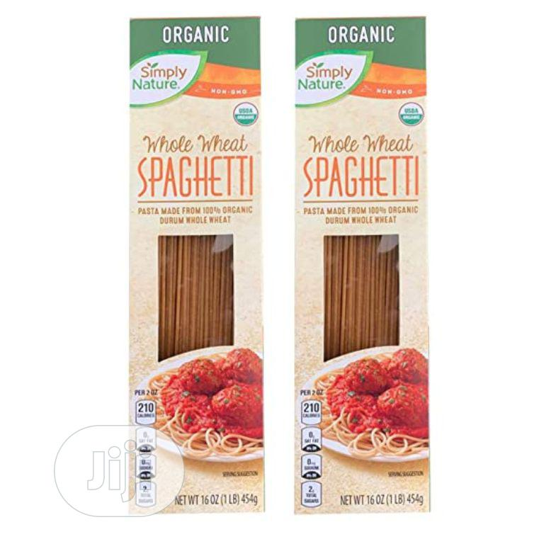 Archive: Simply Nature Organic Whole Wheat Spaghetti (454g)