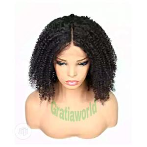 Curly Sliky Short Hair Wig   Hair Beauty for sale in Lagos State, Surulere