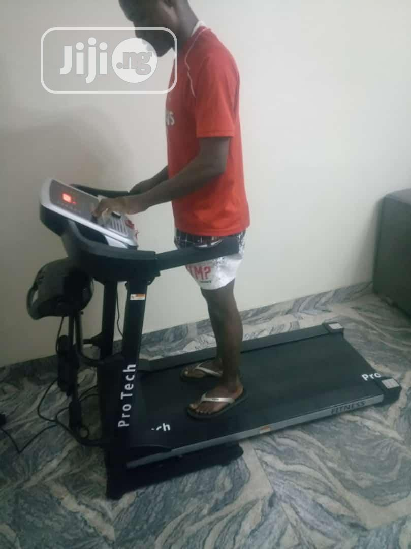 Treadmill.