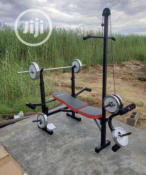 Weight Bench With Lat Pull | Sports Equipment for sale in Lagos State, Ikeja