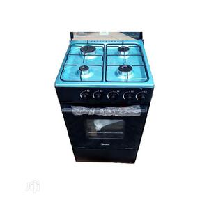 Midea 4 Burner Standing Gas Cooker With Oven | Kitchen Appliances for sale in Lagos State, Ikoyi