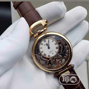 Bovet Rose Gold Leather Strap Watch for Unisex | Watches for sale in Lagos State, Lagos Island (Eko)