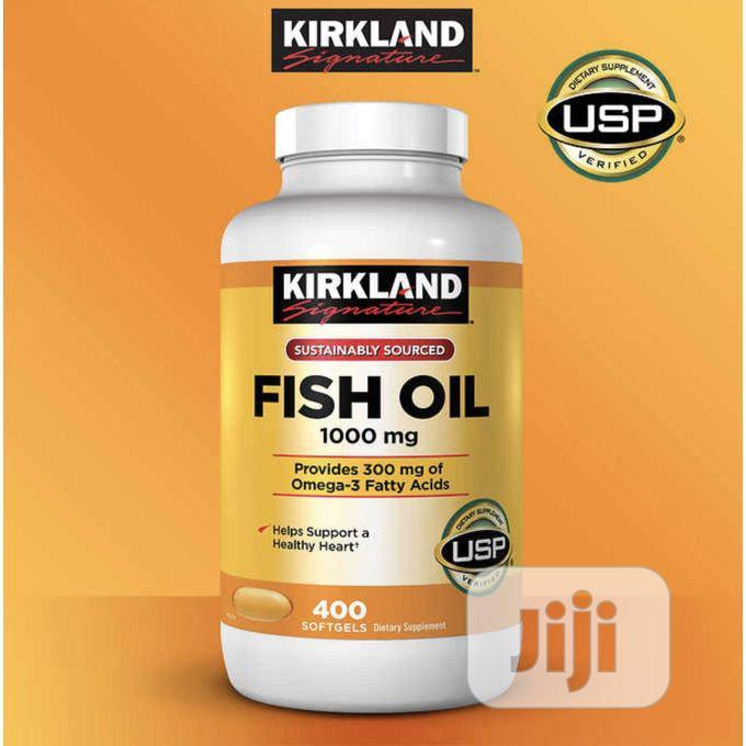 Kirkland Signature Fish Oil 1000mg Omega 3 300mg 400softgels