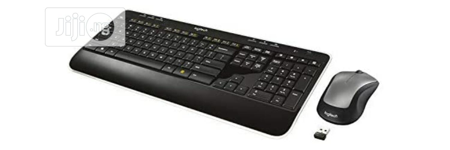 Logitech MK520 Wireless Keyboard And Mouse Combo — Keyboard And Mouse