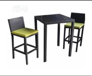 Unique Bar Table With The Chair | Furniture for sale in Lagos State, Lekki