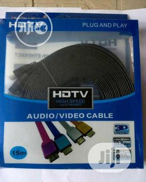 15M HDMI To HDMI Cable | Accessories & Supplies for Electronics for sale in Lagos State, Ikeja