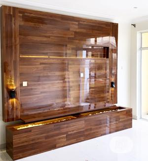 Contemporary Wall TV Stand Interior Design   Building & Trades Services for sale in Lagos State, Lekki