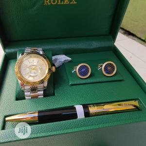 Original Rolex W-Watch,Pen,Cufflinks Accessories Available   Watches for sale in Lagos State, Surulere