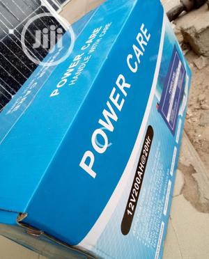 12v 200ah Power Care Battery Available | Solar Energy for sale in Lagos State, Ojo