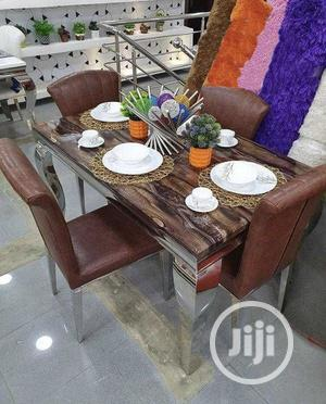Good Quality Dining Table By 4 | Furniture for sale in Lagos State, Lekki